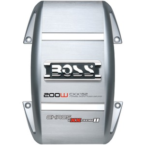 BOSS AUDIO CXX152 200-WATT CHAOS EXXTREME 2-CHANNEL AMP