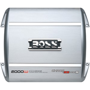BOSS AUDIO CXX2002 2,000-WATT CHAOS EXXTREME 2-CHANNEL AMP