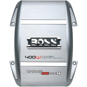 BOSS AUDIO CXX354 400-WATT CHAOS EXXTREME 2-CHANNEL AMP