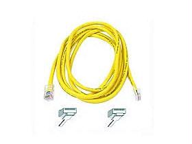 PATCH CABLE - RJ-45 (M) - RJ-45 (M) - 2 FT - UTP - ( CAT 5E ) - YELLOW