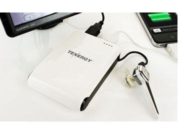 TENERGY USB RECHARGEABLE POWER BACK UP FOR IPHONE, IPAD, WIRELESS SMARTPHONE, AN