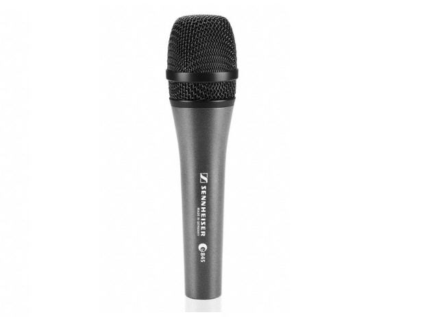 E845/HANDHELD SUPER-CARDIOID DYNAMIC. INCLUDES MZQ800 CLIP. 11.6 OZ.