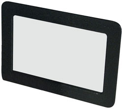 6-5/8x4-3/8 Clip-On Visor Mirror