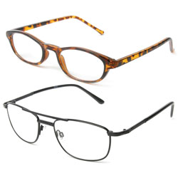 +1.25 Strength I Vision Series Reading Glasses  Assorted Frames
