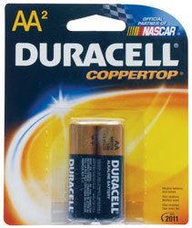 AA Cell Alkaline Batteries - 2-Pack