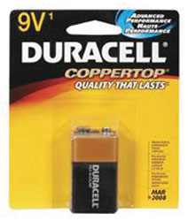 9-Volt Alkaline Battery - Single Pack