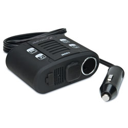 100 Watt DC to AC Power Inverter with USB Input & 12-Volt Port