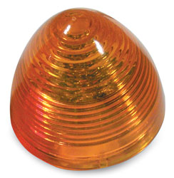 2 LED Beehive Sealed Decorative Light  Amber