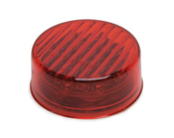 2.5 LED Round Sealed Light  Red