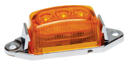 1.75x1 LED Clearance/Marker Light  Amber Lens