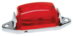 1.75x1 LED Clearance/Marker Light  Red Lens