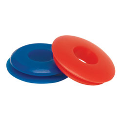 Blue Service & Red Emergency Gladhand Seals Twin Pack