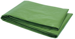 10'x12' Heavy-Duty Tarp with Reinforced Corners  Grey