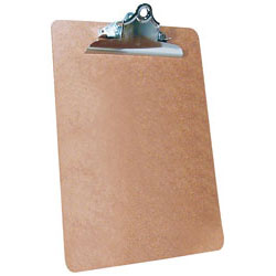 9x12 Masonite Clipboard