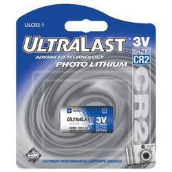 CR2 3-Volt Photo Lithium Battery - Single Pack