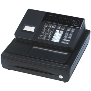 CASIO ECR-COMPUTER PCR-T280 CASH REGISTER W/58MM THERM PRNT