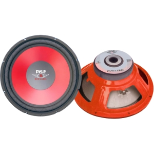 PYLE-CAR AUDIO/VIDEO PLW15RD 15 RED CONE HIGH PERFORMANCE