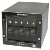 ADDONICS RT3S5HEU3 RAID TOWER 3 5BAY SNAP-IN AND