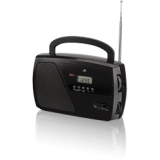 DPI INC/GPX-PERSONAL & PORTABLE R633B SHORTWAVE RADIO WITH DIGITAL