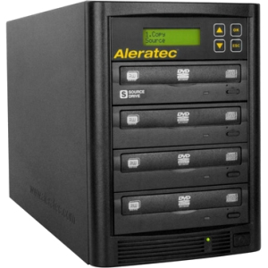 ALERATEC 260180 1:3 DVD CD COPY TOWER STAND-