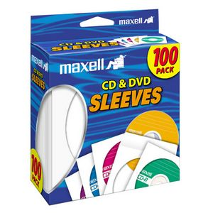 MAXELL 190133 MAXELL CD/DVD SLEEVESVES