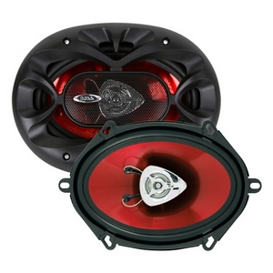 BOSS AUDIO-CAR AUDIO/VIDEO CH5720 BOSS 5X7IN 2-WAY CHAOS SPEAKERS
