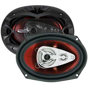 BOSS AUDIO-CAR AUDIO/VIDEO CH6940 BOSS 6X9IN 4-WAY CHAOS SPEAKERS