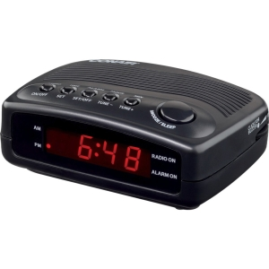 CONAIR HOSPITALITY WCR02 COMPACT CLOCK RADIO W/ SINGLE
