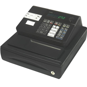CASIO ECR-COMPUTER PCR-272 CASIO CASH REGISTER BLACK