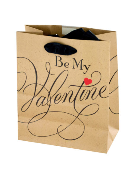 'Be My Valentine' Gift Bag (Case of 144 )
