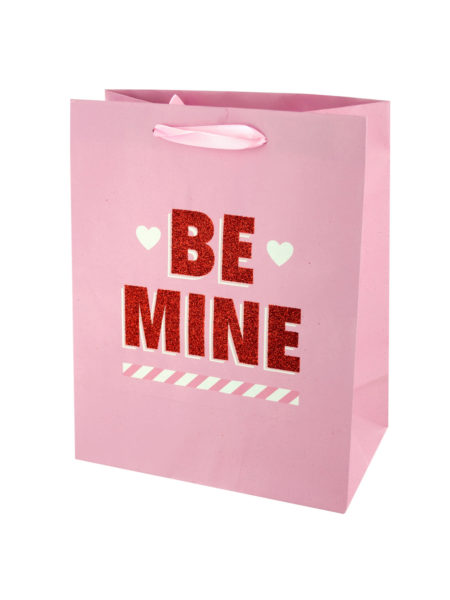 'Be Mine' Valentine's Gift Bag (Case of 144 )
