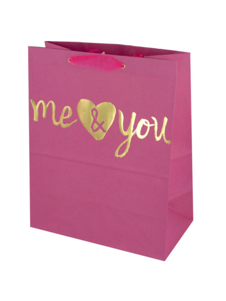 'Me & You' Medium Gift Bag (Case of 144 )