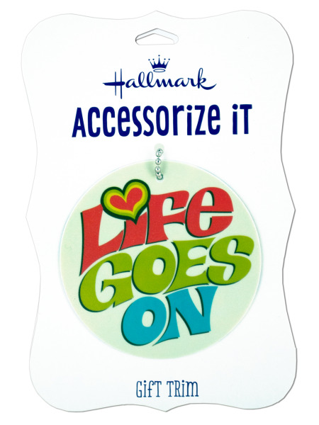 'Life Goes On' Gift Trim Tag (Case of 192 )