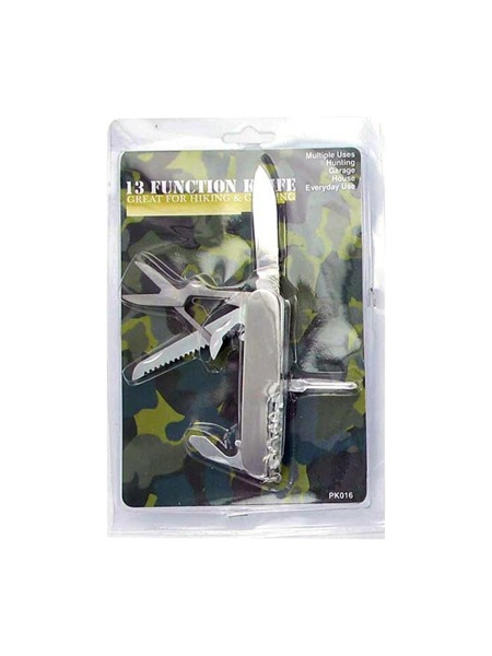 13 Function Pocket Tool Knife (Case of 144 )