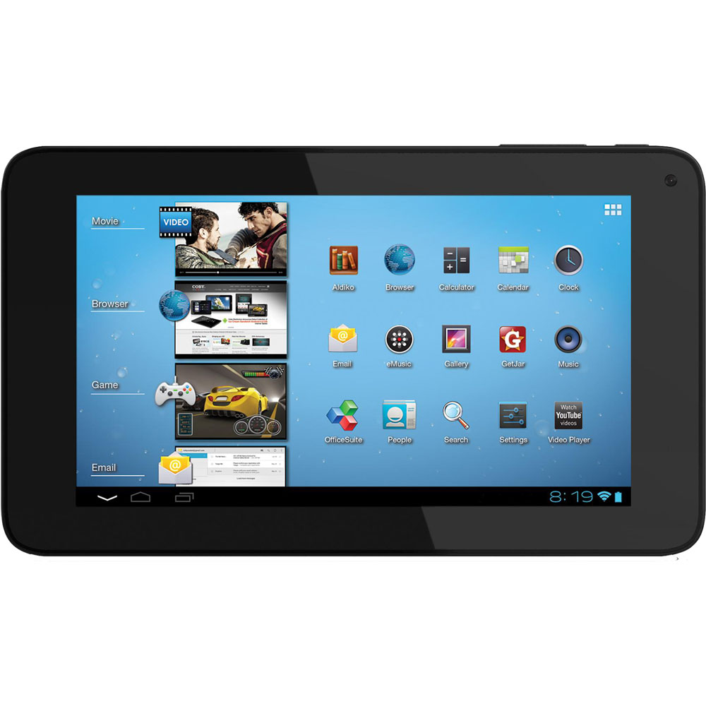 "7"" (16:9) MID with Android OS 4.0, 4 GB,Wi-Fi & Capactive Touch Panel"