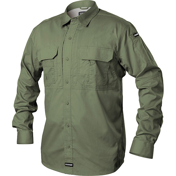 Tactical Pursuit Shirts, Long Sleeve, Jungle, 2XL