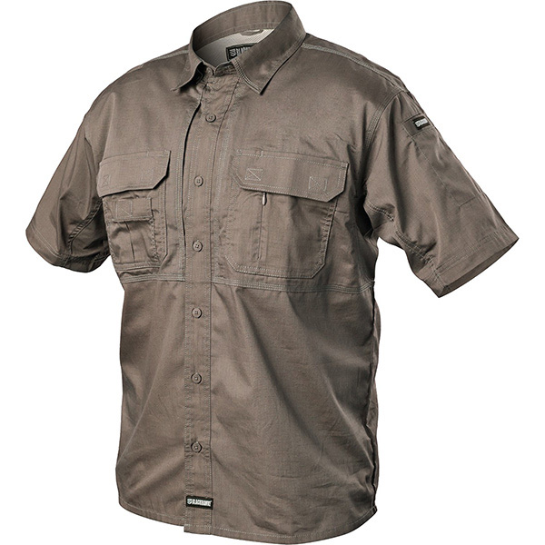 Tactical Pursuit Shirts, Short Sleeve, Fatigue, Small