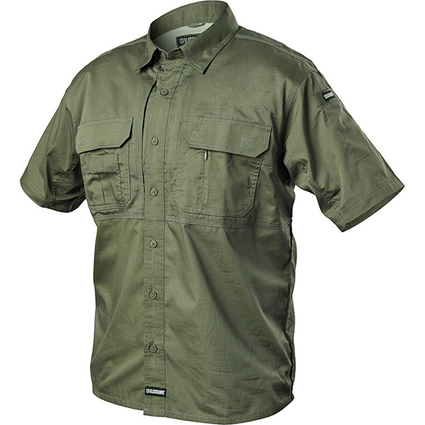 Tactical Pursuit Shirts, Short Sleeve, Jungle, X-Large