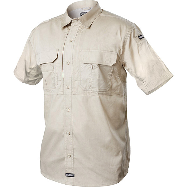 Tactical Pursuit Shirts, Short Sleeve, Stone, Small