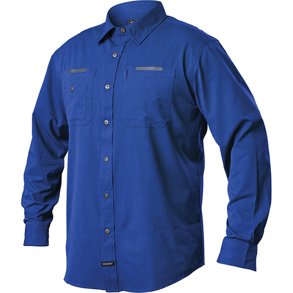 Tac Flow Shirt, Long Sleeve, Admiral Blue, X-Large