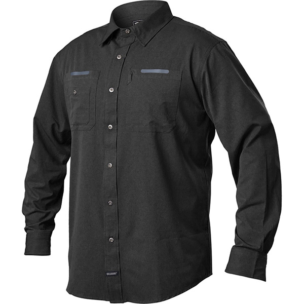 Tac Flow Shirt, Long Sleeve, Black, X-Large