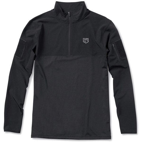The Centurion Performance Pullover, Black, Large