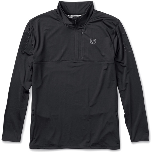The Rig Fleece Pullover, Black, X-Large