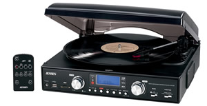 3-Speed Stereo Turntable w/ MP3 Encoding