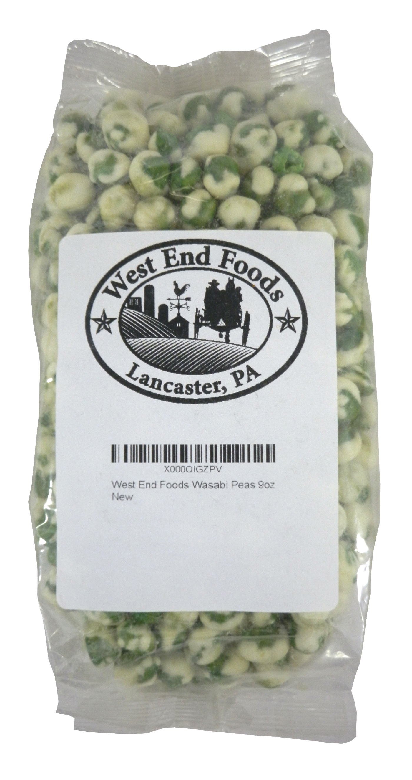 West End Foods Wasabi Peas 9oz